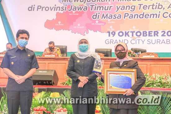Kabupaten Jombang Raih Penghargaan WTP dari Kemenkeu – RI