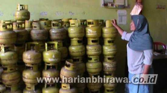 Ulah Spekulan, Harga LPG 3 Kg Tembus 20 Ribu di Kabupaten Nganjuk