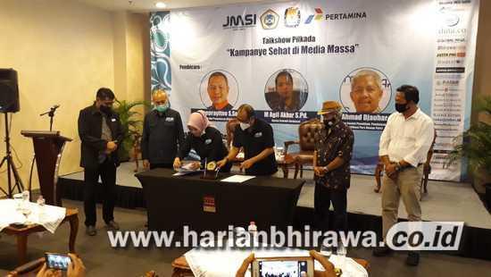 Kampus Unitomo Surabaya Bersiap Jadi Pelaksana Uji Kompetensi Wartawan