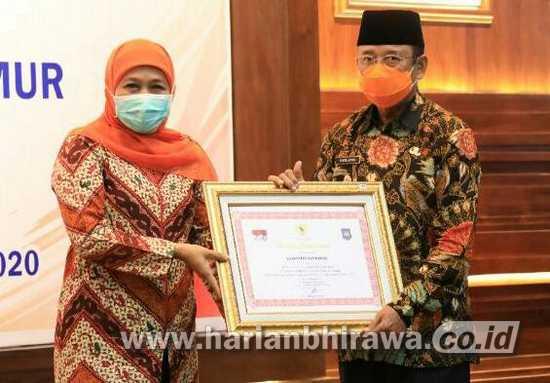 Pemerintah Kabupaten Ponorogo Terima Penghargaan LPPD