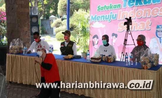Bupati Tantri Silaturahim Bersama Nakes dan Pasien Covid-19 Secara Virtual