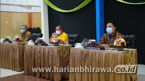 Pjs Wali Kota Blitar Jumadi Hadiri Pembukaan Pameran Virtual UMKM Bank Indonesia