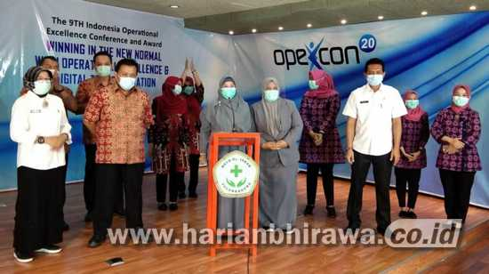 RSUD dr Iskak Tulungagung Raih Gold Winner di Opexcon 2020