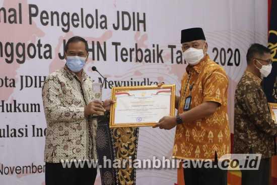 JDIH Kabupaten Tuban Raih Penghargaan Terbaik Kedua Tingkat Nasional