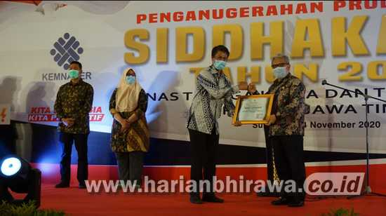 Enam Perusahaan dan Enam Kepala Daerah Raih Anugerah Produktivitas Siddhakarya