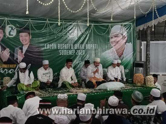 KH Kholil As'ad Ajak Warga Sumenep Dukung Fattah Jasin-Kiai Fikri