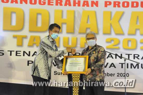 Pemprov Apresiasi Pemkab Mojokerto atas Penghargaan Produktivitas Siddhakarya