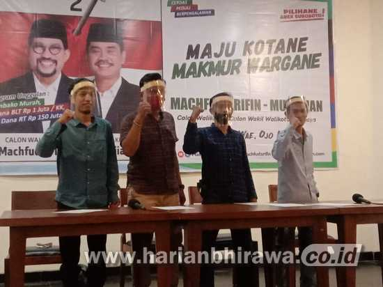 Tim Semut Biru Pendukung Risma Alihkan Dukungan ke Paslon MA-Mujiaman