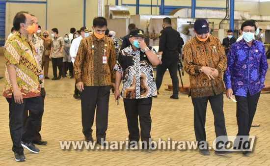 Budidaya Tanaman Porang Dilirik Komisi IV DPR RI Kunjungi Pabrik Pengolahannya