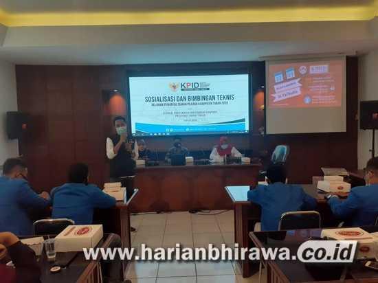 KPID Jatim-Bawaslu Gelar Sosialisasi dan Bimbingan Teknis Relawan Pemantau