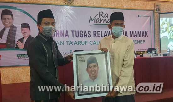 Cabup Sumenep Achmad Fauzi Sampaikan Visi Misi 'Bismillah Melayani'