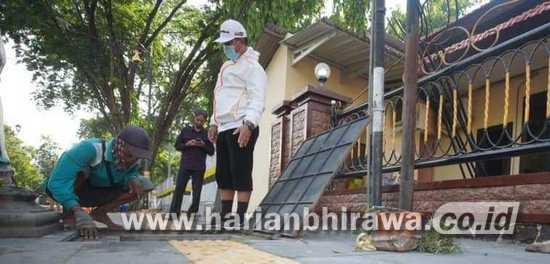 Tinjau Pembangunan Saluran, Wali Kota Madiun Imbau Warga Jaga Lingkungan