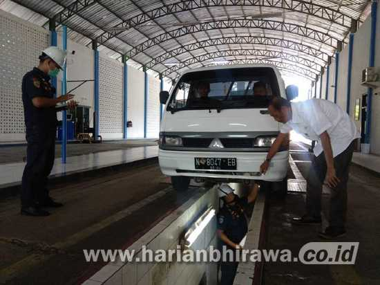 Dishub Kabupaten Malang Optimis Retribusi Uji KIR Capai 60 Persen