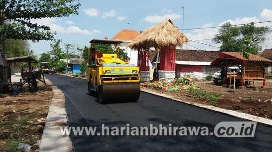 Pemeliharaan Jalan Aspal 37 Titik di Bojonegoro Rampung Desember