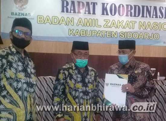 Baznas Kabupaten Sidoarjo Peroleh Penilaian WTP