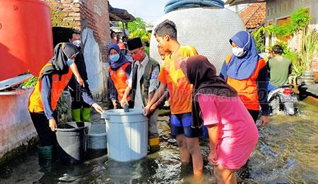 Melihat Ketangguhan Srikandi BPBD Provinsi Jatim