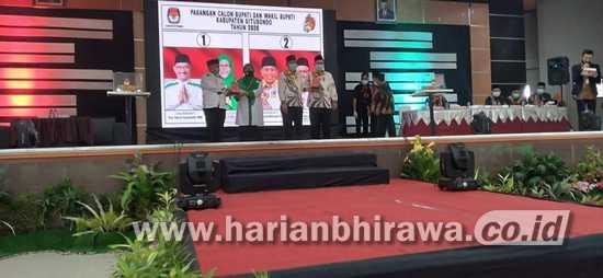 KPU Umumkan Dana Kampanye Paslon Bupati-Wakil Bupati Situbondo