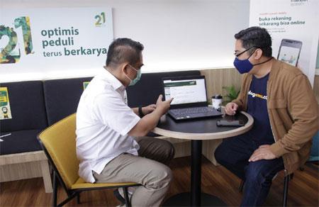 Mudahkan Kebutuhan Transaksi Pengusaha, Mandiri Syariah Launching Tabungan Bisnis