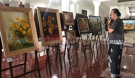 Berkarya Selama Pandemi, Seniman di Malang Gelar Pameran Lukisan