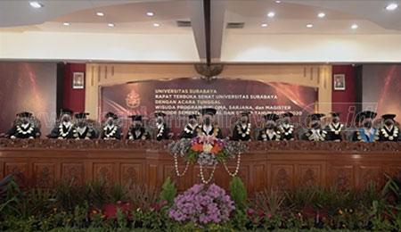 Perdana, Ubaya Wisuda 1.168 Sarjana Kedokteran