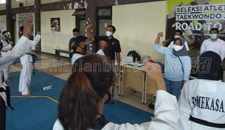 Promdeg dan Seleksi Taekwondo, Atlet PPLPD Bisa Terdegradasi