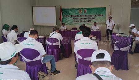 Atlet KONI Tuban Targetkan Lolos Delapan Besar Porprov VII