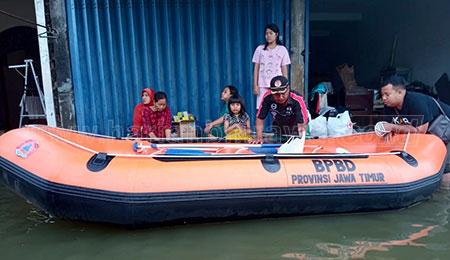 BPBD Jatim Pastikan Logistik Aman di Daerah Terdampak Bencana