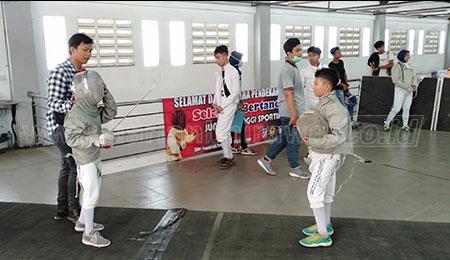 Atlet Anggar Jatim Berpeluang Raih Emas di Popnas