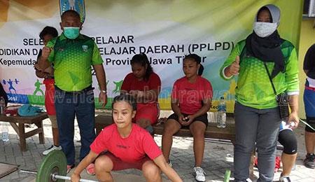 Seleksi PPLP Angkat Besi Jatim, Jaga Tradisi Emas Popnas 2021