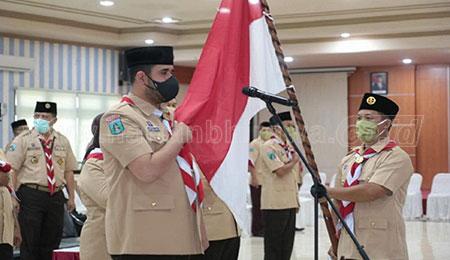 Ketua Mabicab dan Pengurus Kwarcab Pramuka Kota Probolinggo Dilantik