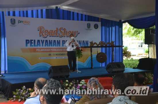 Roadshow Pelayanan Perijinan Tiba di Kabupaten Trenggalek