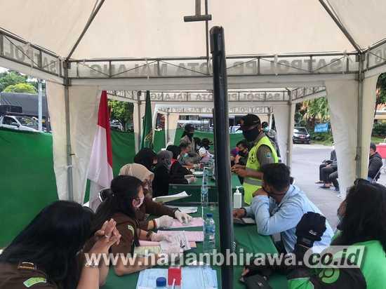 Razia Dua Jam di Kota Malang, Puluhan Orang Terjaring Operasi Masker