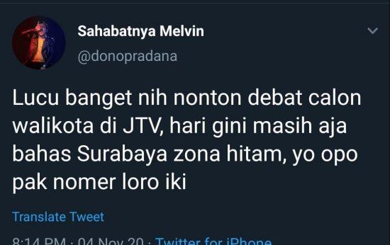 Machfud Ungkit Surabaya Zona Hitam Covid-19, Netizen Geleng-geleng Kepala