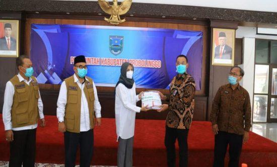 Bupati Probolinggo Terima Kunjungan Team Task Force Covid-19 Kemenkes RI