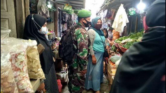 Antisipasi Penyebaran Covid-19 Dengan Patroli Pasar Tradisional di Jombang