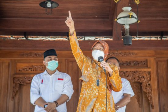Kini Machfud Arifin Puji Risma, Tim Eri Cahyadi: Terima Kasih, Mari Pilih Erji