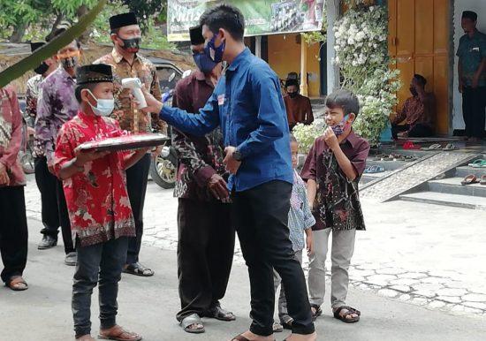 Desa Singkil Kabupaten Ponorogo Ketat Terapkan Disiplin Prokes Covid-19