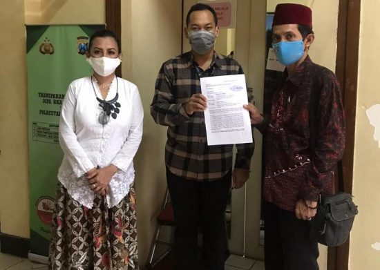 Warga Laporkan Dugaan Penyelewengan Bantuan BNPB ke Polrestabes Surabaya
