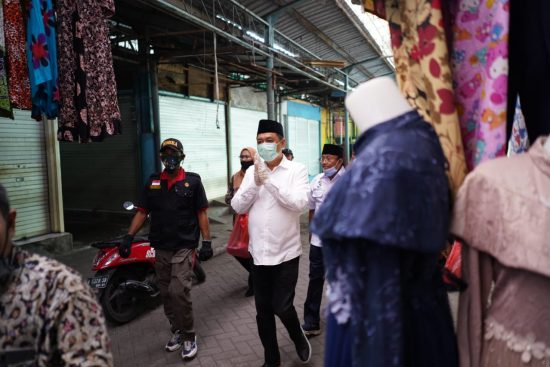 Cabup Kelana Aprillianto: Potensi Besar Pasar Porong Perlu Fasilitas Cold Storage