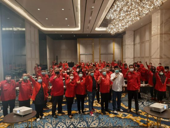 PDIP Semakin Solid, Djarot: Jurus Pecah Belah Partai Machfud Arifin Tak Efektif