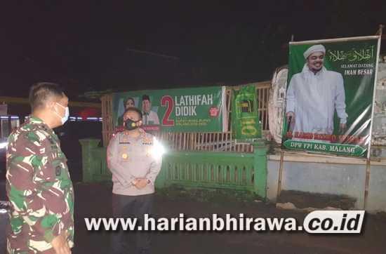 Puluhan Baliho Habib Rizieq di Kabupaten Malang Diturunkan Tim Gabungan