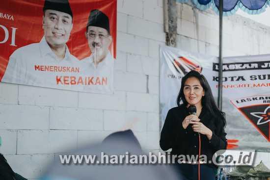 Rieke Dyah Pitaloka: Eri Cahyadi Keberlanjutan Masa Depan Surabaya