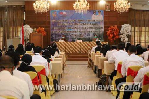 Bupati Buka Pelatihan Pengadaan Barang/Jasa Berbasis TIK ASN Pemkab Jombang
