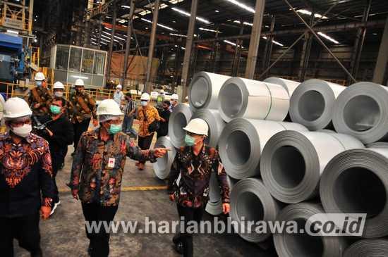 Era Swasembada Baja Lapis, PT Sunrise Steel Menambah Kapasitas Produksi