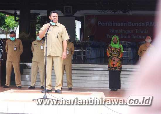 Apel Perdana Bupati Mojokerto Pasca Cuti Kampanye Pilkada 2020