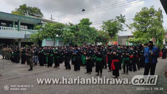 PCNU Tuban Gelar Apel Siaga Ikut Amankan Pilkada
