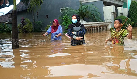 Desa di Pasuruan dan Nganjuk Terendam Banjir
