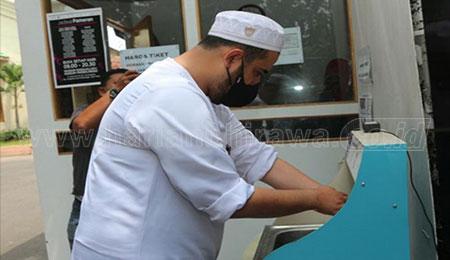 Wali Kota Hadi Pastikan Penerapan Prokes Museum Rasulullah