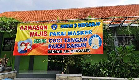 SMA-SMK Negeri Sidoarjo Persiapkan PTM