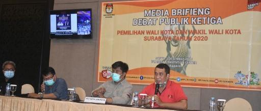 Debat Publik III, Jadi Kampanye Terakhir Paslon MAJU dan ErJi